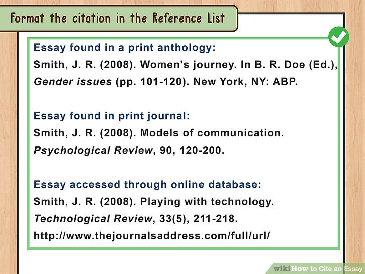 how to cite a review article