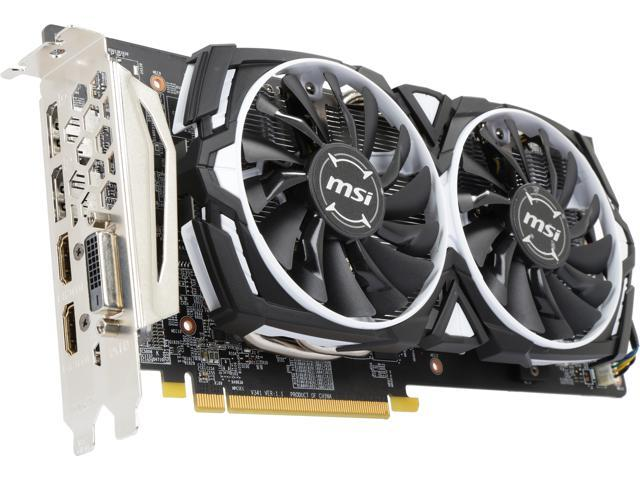 msi rx 480 armor 4g oc review