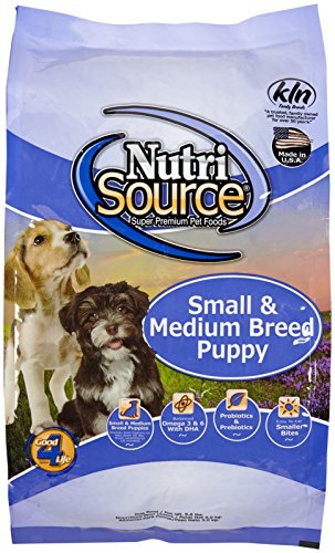 nutrisource small and medium breed puppy review