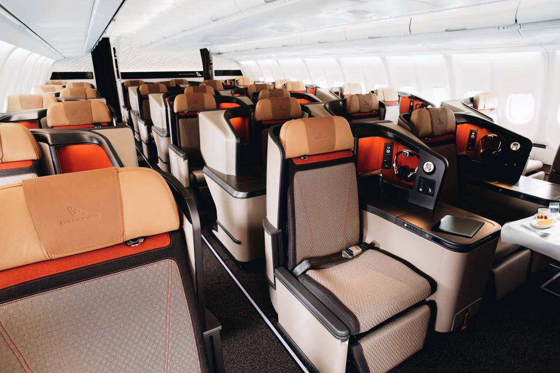 south african airways business class review