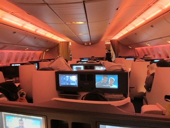 air china boeing 777 300 business class review