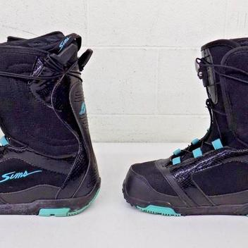 sims caliber snowboard boots review