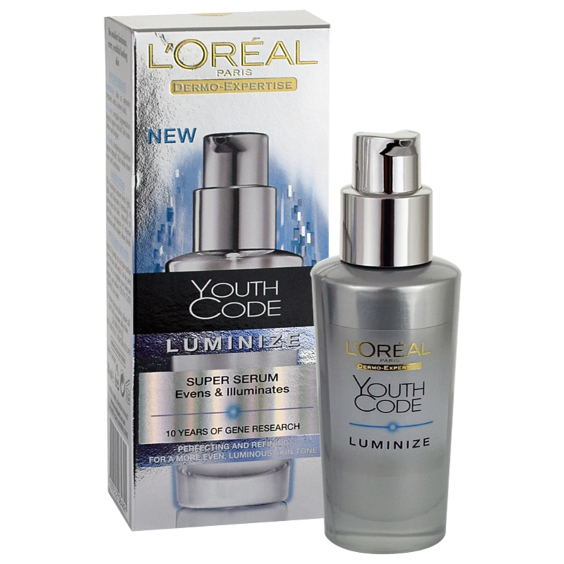 l oreal youth code luminize serum review