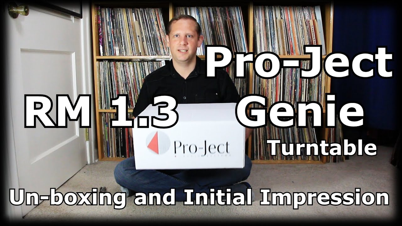 pro ject rpm 1.3 genie turntable review
