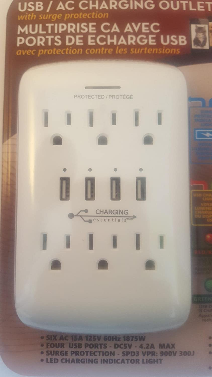charging essentials usb ac charging outlet review