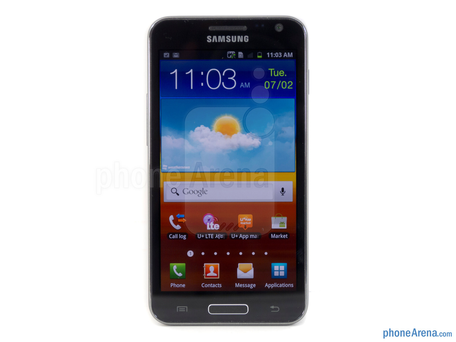 samsung galaxy s ii lte review